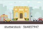 court house building | Shutterstock .eps vector #564857947