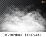 fog or smoke isolated... | Shutterstock .eps vector #564871867