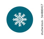 snowflake icon | Shutterstock .eps vector #564880417