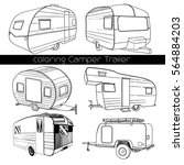 vector illustration of set... | Shutterstock .eps vector #564884203
