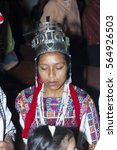 Small photo of GUATEMALA - July 22, 2006- The national folk festival of Cobán Alta Verapaz. Rabin Ajaw The Daughter of the King, National Indigenous Queen, Guatemala. Editorial