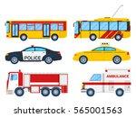 City Transportation Set With...