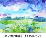 landscape | Shutterstock . vector #565007407