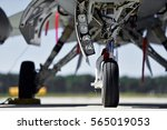 Military aircraft detail with...