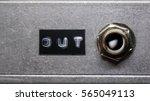 Audio Output Socket On...