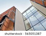modern apartment building | Shutterstock . vector #565051387