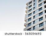 modern apartment building | Shutterstock . vector #565054693