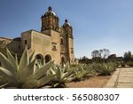 cathedral of santo domingo in... | Shutterstock . vector #565080307