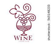Wine Logo Templates. Bottle ...