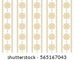 arabic pattern. seamless... | Shutterstock .eps vector #565167043