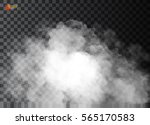 fog or smoke isolated... | Shutterstock .eps vector #565170583