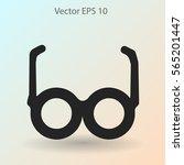 glasses vector illustration | Shutterstock .eps vector #565201447