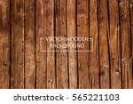 Vector Wooden Background. Brow...