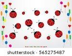 ladybird vector illustration...   Shutterstock .eps vector #565275487