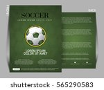 soccer football tournament... | Shutterstock .eps vector #565290583