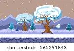 landscape for browser and... | Shutterstock .eps vector #565291843