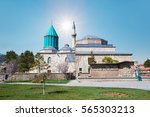 mausoleum of mevlana in konya.... | Shutterstock . vector #565303213