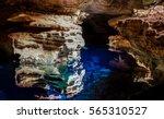 poco azul  wonderful grotto... | Shutterstock . vector #565310527