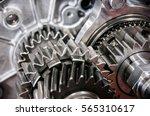 transmission gears closeup