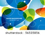 water background  vector...