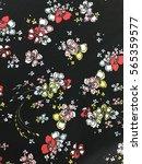 the beautiful of art fabric... | Shutterstock . vector #565359577