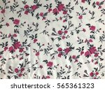 the beautiful of art fabric... | Shutterstock . vector #565361323