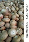 Small photo of Dried Betel Nut or Areca Nut background