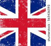 united kingdom flag or britain...   Shutterstock .eps vector #565436593