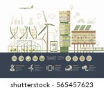 Smart City Vector Illustration...