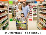 sale  consumerism and people... | Shutterstock . vector #565485577