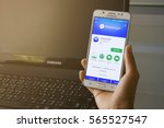 bung kan  thailand   january 08 ... | Shutterstock . vector #565527547