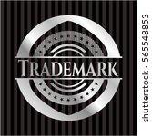 trademark silver shiny badge | Shutterstock .eps vector #565548853