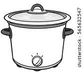 potluck illustration | Shutterstock .eps vector #565632547