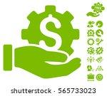 development service pictograph... | Shutterstock .eps vector #565733023