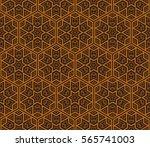 ornamental seamless pattern.... | Shutterstock .eps vector #565741003