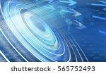 graphical digital news... | Shutterstock . vector #565752493