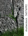 18th century gravestones at the ...   Shutterstock . vector #56576992