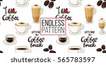 beautiful seamless pattern with ... | Shutterstock .eps vector #565783597