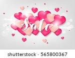 poster for the celebration of... | Shutterstock .eps vector #565800367
