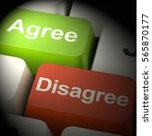 disagree and agree keys for...   Shutterstock . vector #565870177