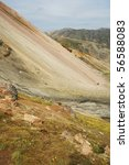 multicolored rhyolite mountains ... | Shutterstock . vector #56588083