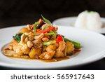 thai cashew nuts stir fried | Shutterstock . vector #565917643