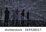 fantasy dream  lighting like a... | Shutterstock . vector #565928017