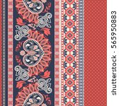 floral seamless pattern. ethnic ...
