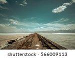 Railway Tracks In The Forlorn...