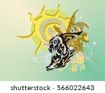 eagle horse symbol against the...