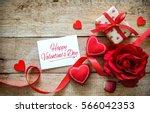 Red Hearts  Rose  Ribbon ...