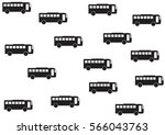 bus pattern | Shutterstock .eps vector #566043763