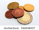 European Coins Of Different...