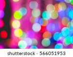 Colorful Bokeh Of Light On...